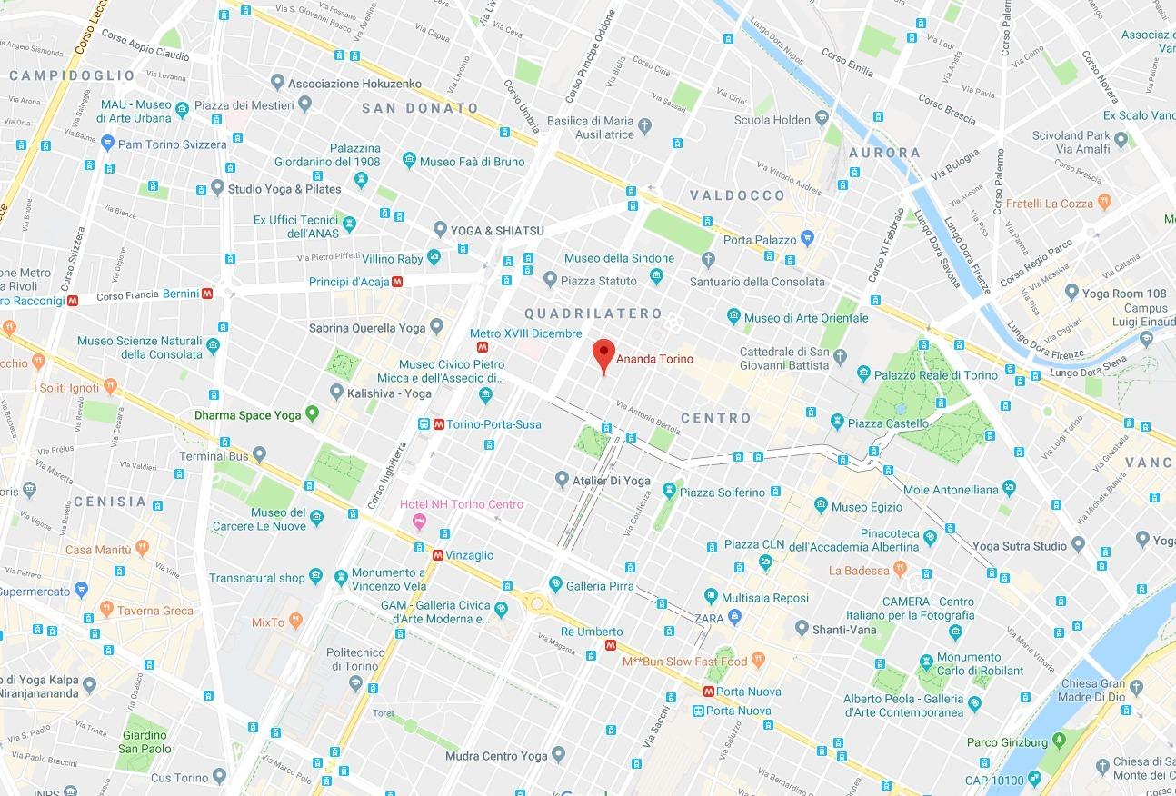 Ananda Torino, Via Ottavio Assarotti, 9, 10100 Torino TO, Italy